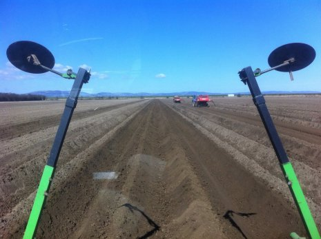 Подготовка поля под посадку овощей