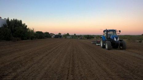 Подготовка поля под посев