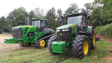 Мощные трактора