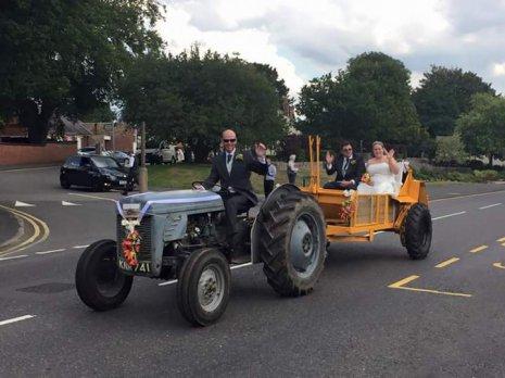 Свадьба тракториста